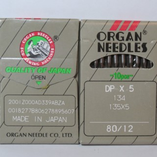 Organ Needles DPx5 №80