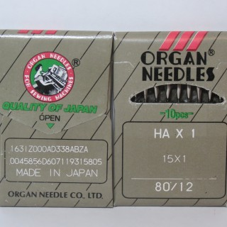 Organ Needles HAx1№80