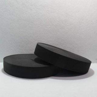Резинка 2.5 см ( черная)