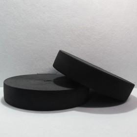 Резина 3.5 см ( черная)